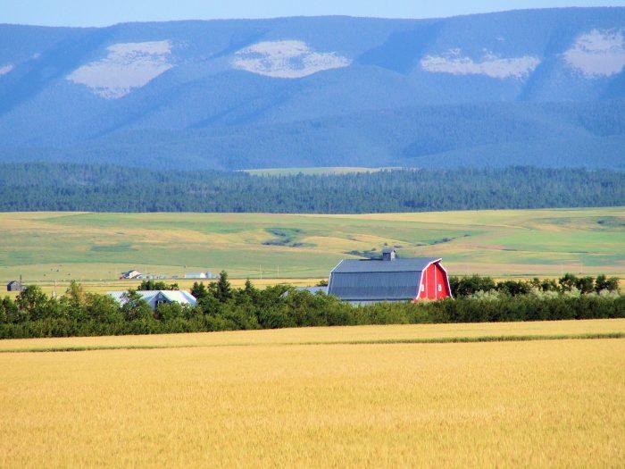 10. This beautiful farm is on Rock Creek Road near Lewistown.