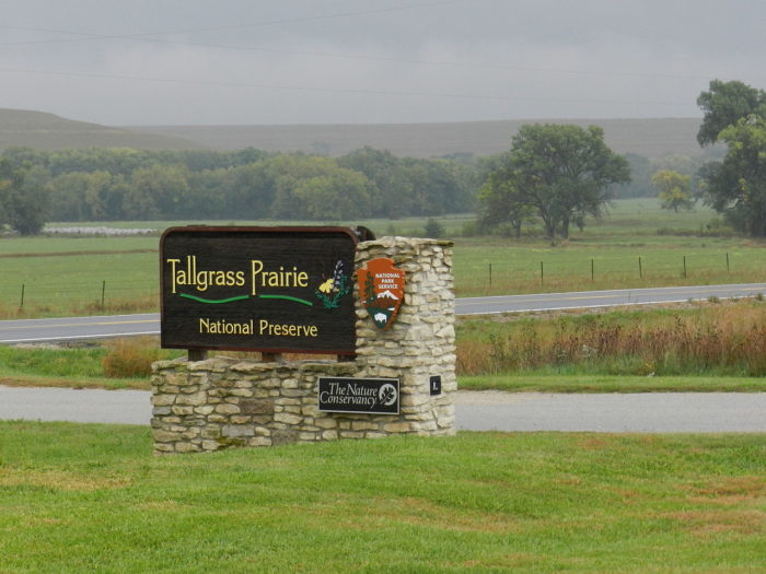 10. ...or Tallgrass Prairie National Preserve.