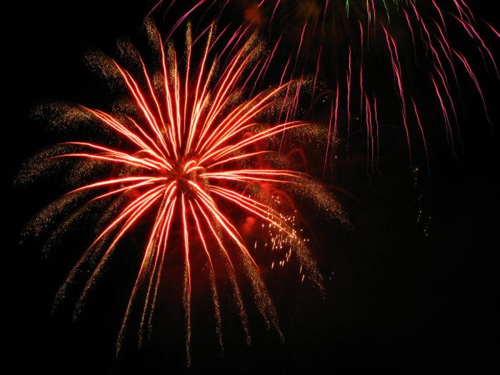 10. Fireworks Display at Moses Lake