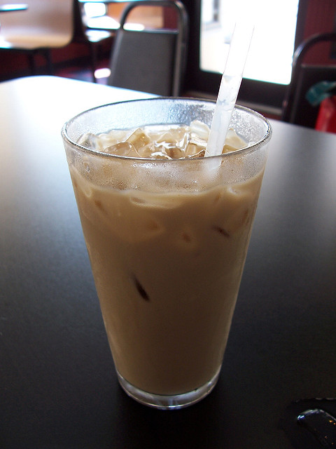 2. Turning down an ice coffee.