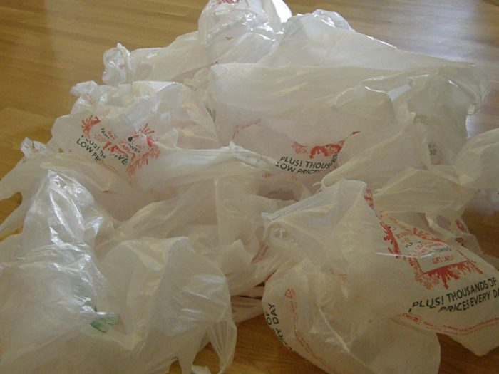 9. Plastic grocery bags are banned in Austin.