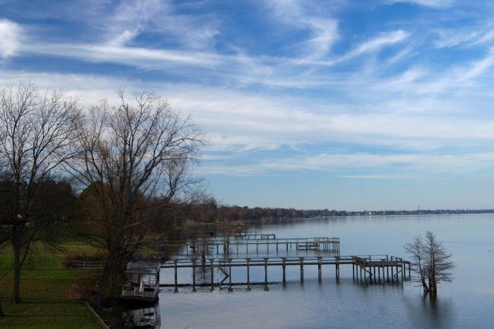 13.Lake Chicot is incredible.