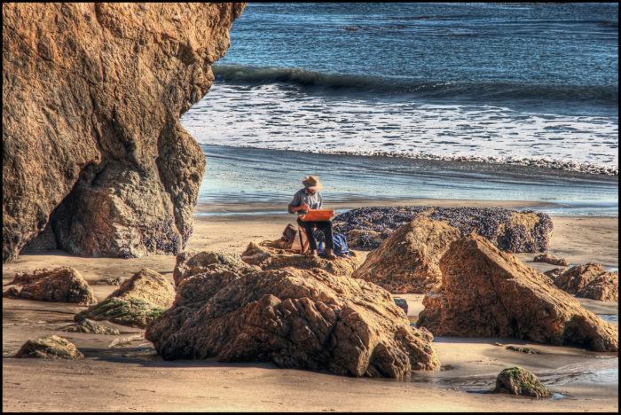 7. El Matador Beach