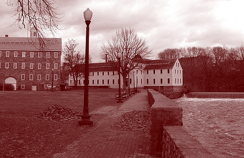 9. The ghosts of Slater Mill Historic Site