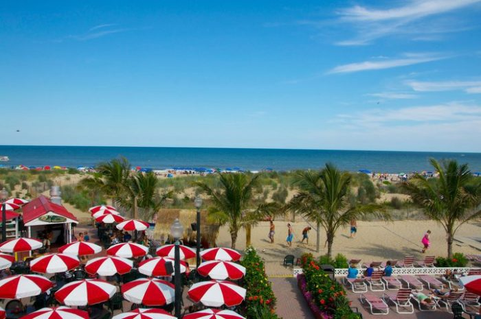 10. Castle in the Sand Hotel, Ocean City