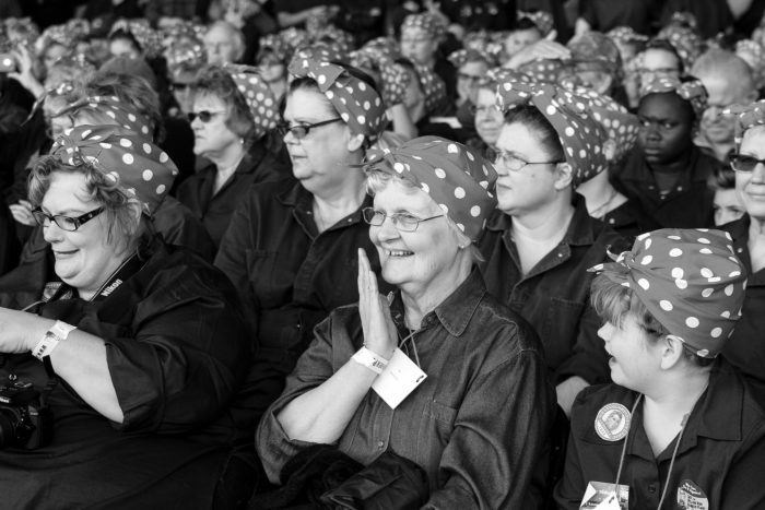 "8. We're the birthplace of the ""Rosie the Riveter"" movement."