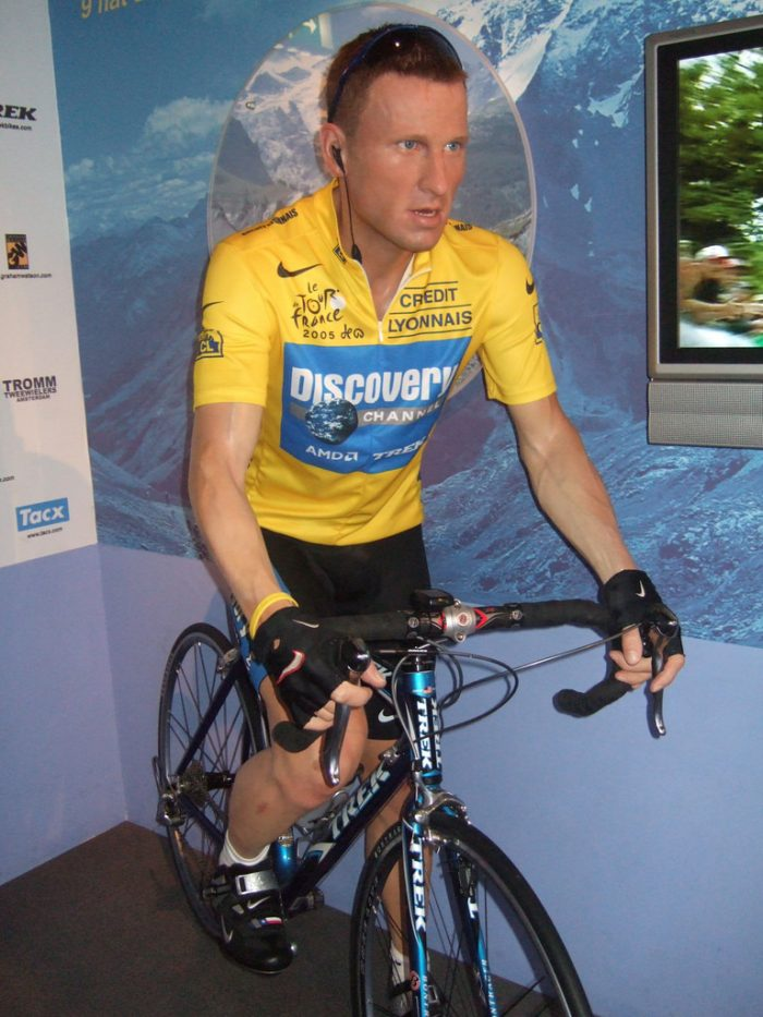 1. Lance Armstrong