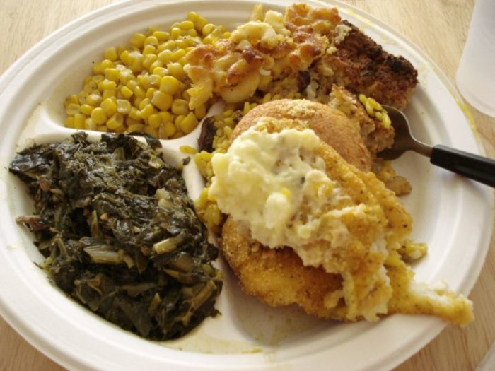 8. Nowhere else will you find such incredible Southern food.