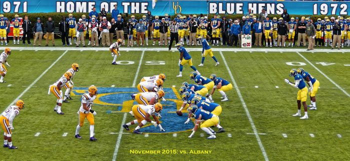 9. The Fightin' Blue Hens