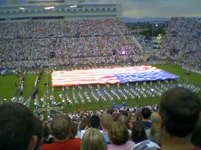 1. The Stadium of Fire is amazing.