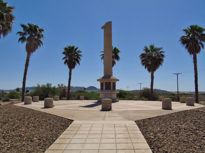 12. In Parker you'll find the Poston Memorial Monument, dedicated in memory of the Japanese Americans who were detained here during World War II.