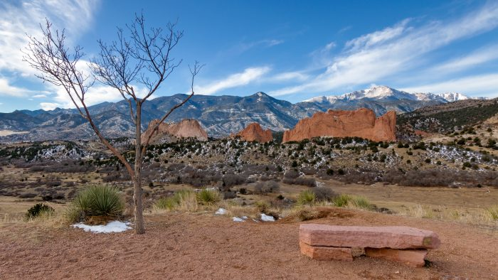 3. Garden of the Gods Overlook (Colorado Springs)