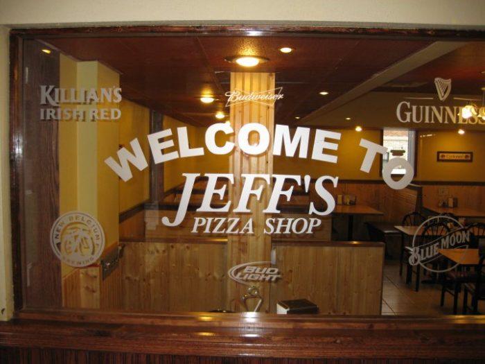 2. Jeff's Pizza Shop, Ames