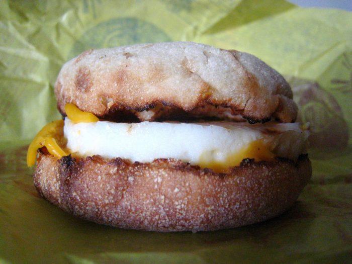 2. Egg McMuffin