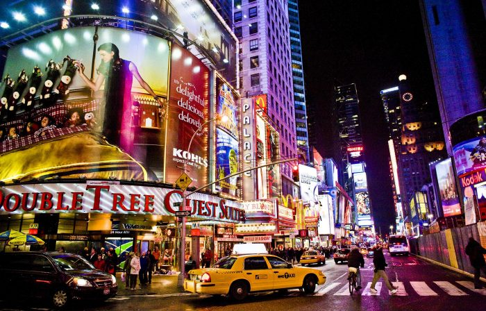 3. New York: Times Square