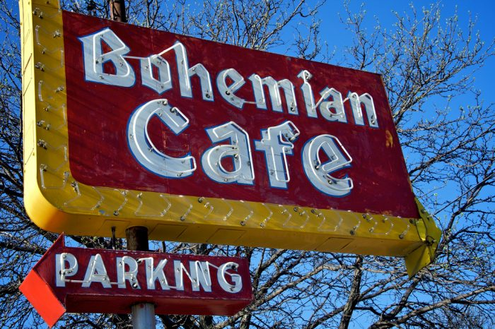 The Bohemian Cafe has been a fixture of South Omaha at 13th and William Street for just about as long as anyone can remember.
