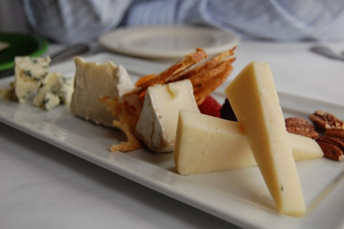 7.  Vermont Cheese Plate