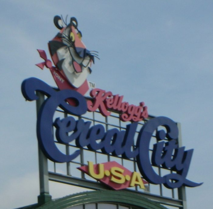 6. The Kellogg Company in Battle Creek was the first to develop dry cereal in the country.