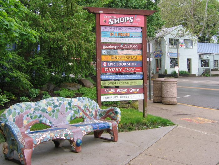 9. There are plenty of charming small towns to settle down and retire in...