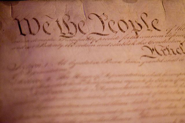 2. Our vote made the constitution legal.