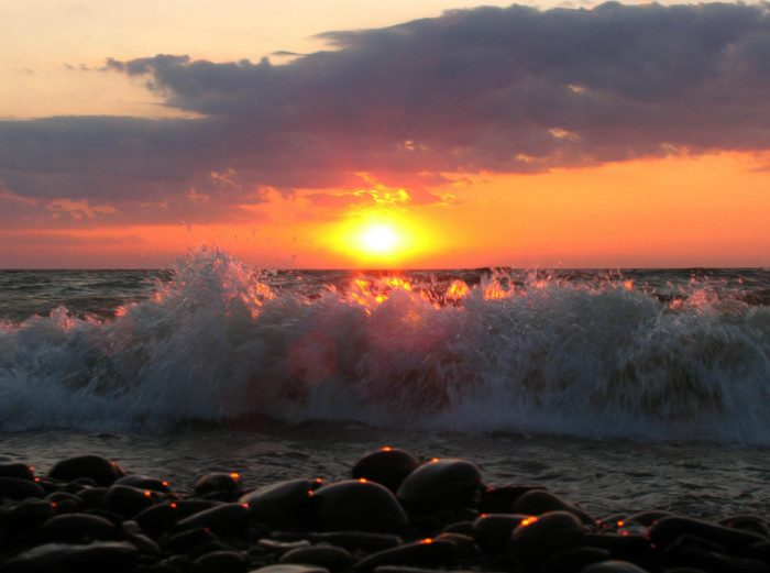 17. Spend a day on the shores of (and in the waters of) Lake Erie.