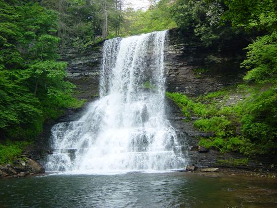 8. Cascades waterfall