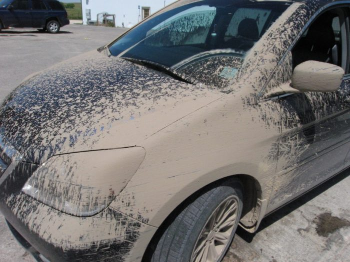 13. Dealing with our cars during the season between winter and spring...
