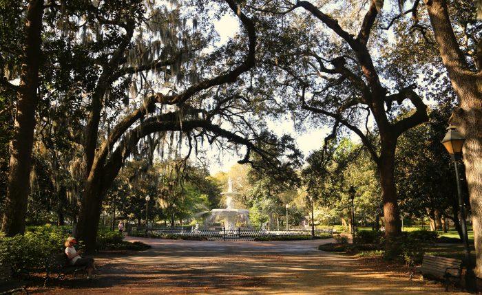 1. Stroll through Forsyth Park in Savannah.