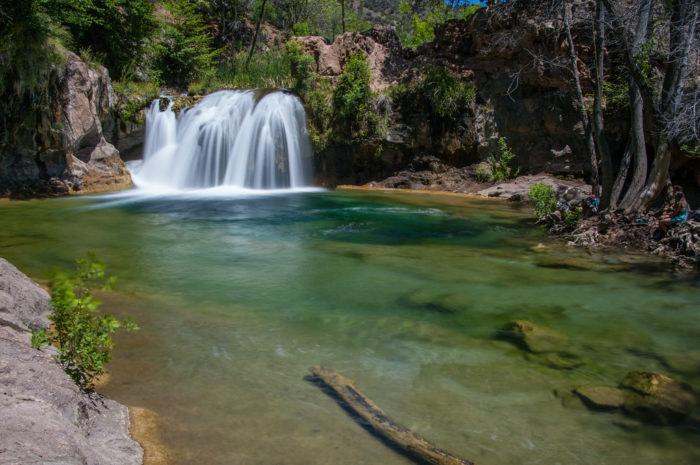 6. Waterfall Trail at Fossil Creek