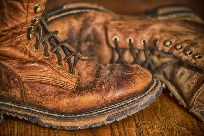 3. A well-worn pair of boots.