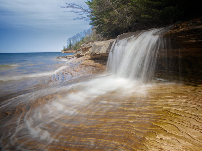 6. Miners Beach Falls