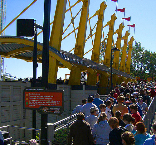 11. Nearly every summer, you get your amusement park fix. Whether you stand in line for hours for your favorite ride or the newest coaster at Cedar Point...