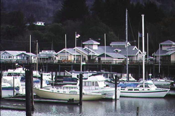 3. Boardwalk at the Port of Brookings Harbor