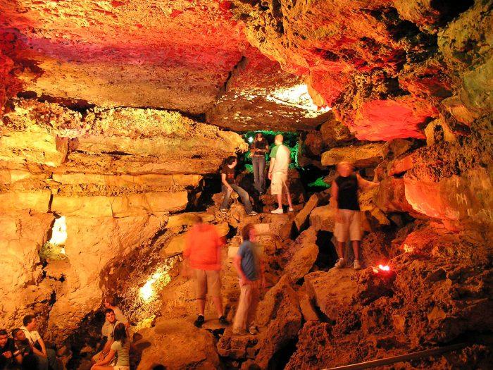 8. Go cave exploring at Wonder World.