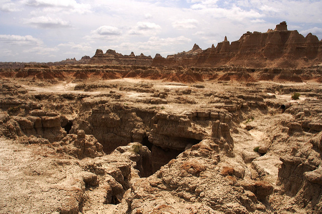 6. The face of Mars or South Dakota? It could go either way.