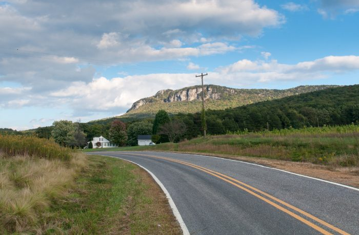 6. Hanging Rock Scenic Byway