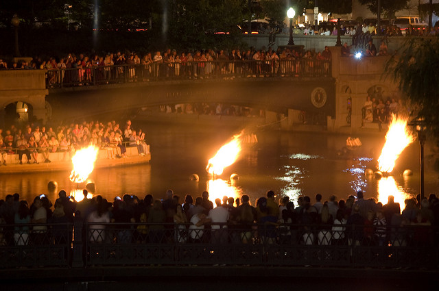 5. Providence WaterFire makes the city come alive with music, food, and other entertainment.