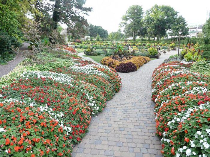 3. Flower gardens