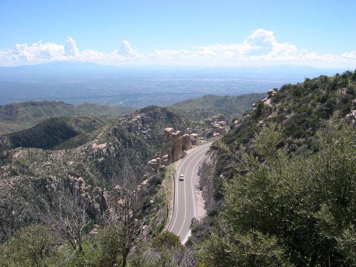 9. Sky Island Scenic National Byway