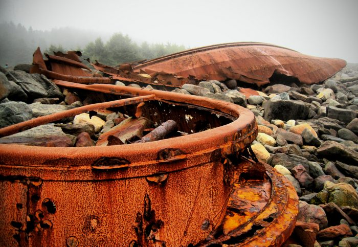 12. Shipwreck of the D.T. Sheridan, Monhegan