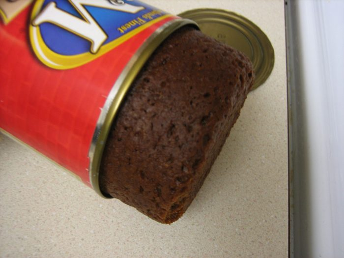"""9. Count brown bread baked in a bean can as an """"iconic"""" food."""