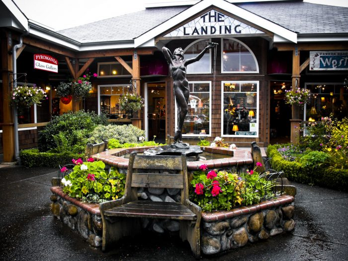 There are lots of great shops, cafes, and pubs to check out in Cannon Beach's charming downtown district.