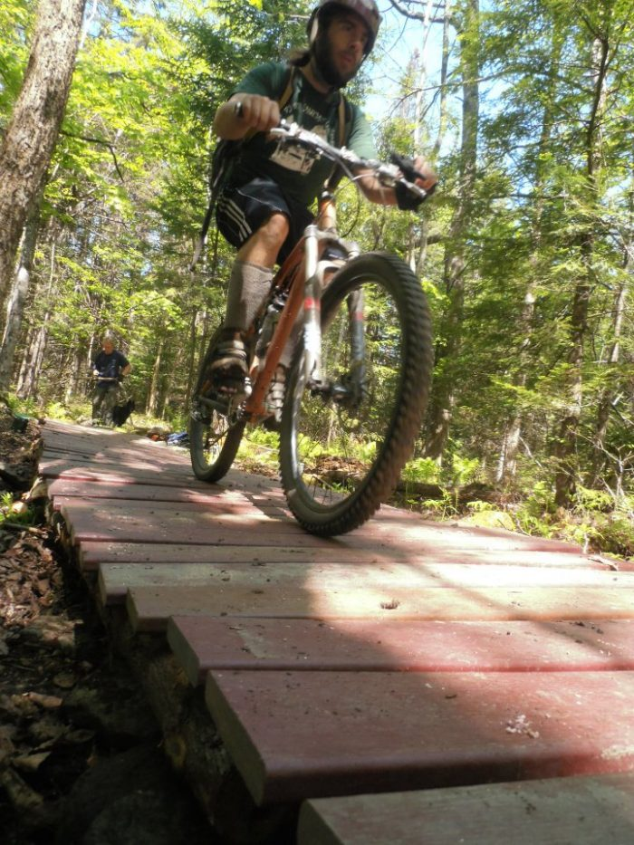 16.Mountain Bike to cool places.