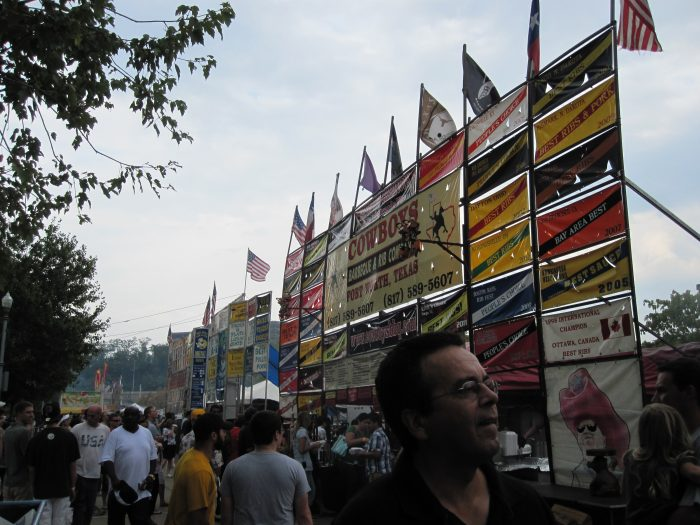 5. The Kickoff and Rib Fest