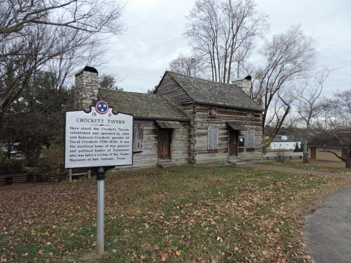 3. Crockett Tavern Museum - Morristown