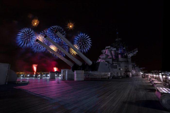 3. USS Battleship Missouri's Picnic on the Pier, Oahu