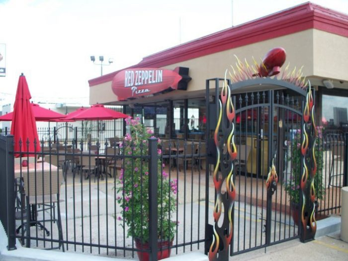 8. Red Zeppelin Pizza, Baton Rouge
