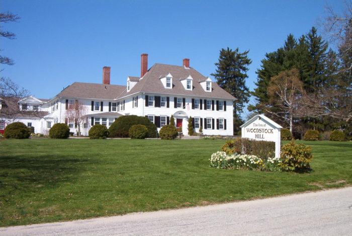 1. The Inn at Woodstock Hill (Woodstock)