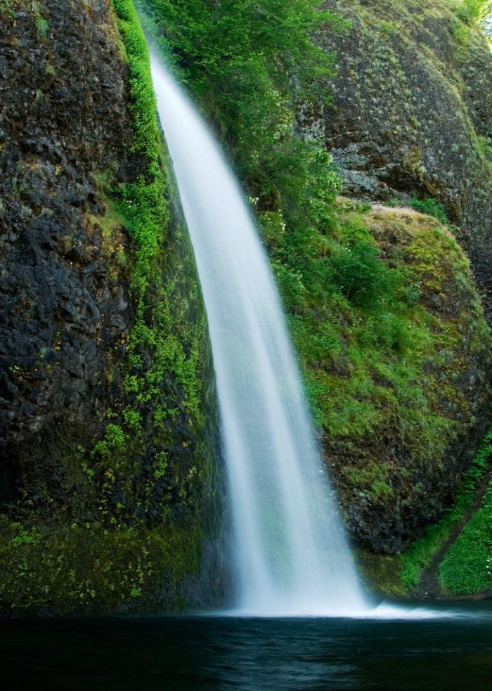 2. Horsetail Falls