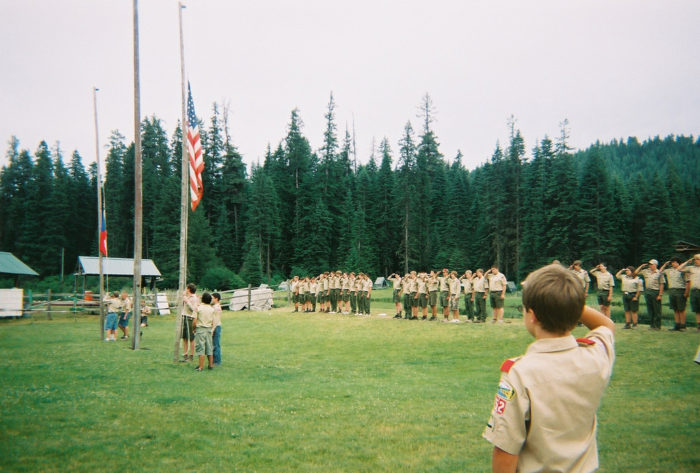 10. We raise our families with a respect for our nation's history and a pride for all it symbolizes.